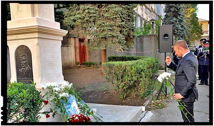Daniel Gheorghe a fost la Chișinău la inaugurarea unui monument în memoria unei biserici românești distruse de sovietici, Foto: Facebook / Daniel Gheorghe