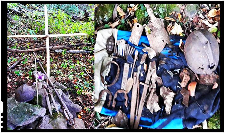 Încă un Erou al Armatei Române descoperit în imediata apropiere a Cimitirului International al Eroilor Valea Uzului!, Foto: Facebook / Mihai Tirnoveanu