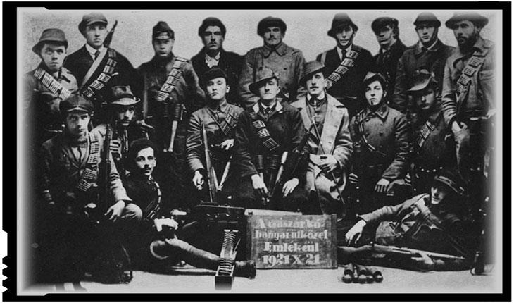 """Organizații teroriste maghiare care au pregătit """"listele negre"""" ale masacrelor din Ardealul de Nord din 1940: Garda Zdrențăroșilor (!)"""