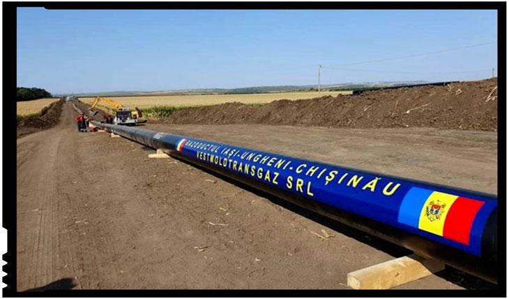Se lucrează intens pe șantierul gazoductului Ungheni-Chişinău, Foto: tvrmoldova.md