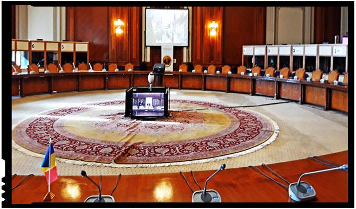 Sala Drepturilor Omului din Palatul Parlamentului