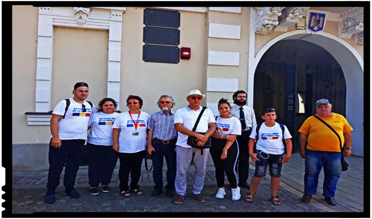 Cursanții Școlii de Vară de la Carei au descoperit cum este batjocorit statul român în municipiul Carei