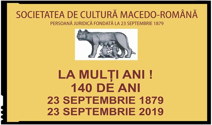 Societatea de Cultură Macedo-Română sărbătorește 140 de ani de la înființare, Foto: Facebook / Societatea de Cultură Macedo-Română