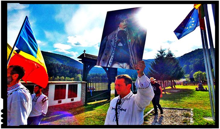 Cu Avram Iancu, Generalul Armatei de Moți, la Valea Uzului, Foto: Facebook / Mihai Sorin Tîrnoveanu
