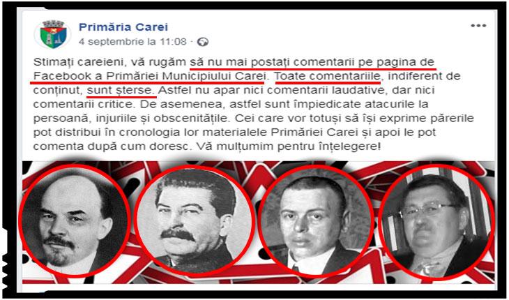 Urmașii lui Bela Kun reinventează cenzura bolșevică la CAREI!?