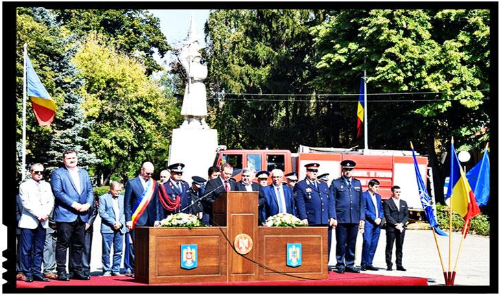Ziua Pompierilor din România, la Satu Mare, Foto: Facebook / Instituţia Prefectului Satu Mare