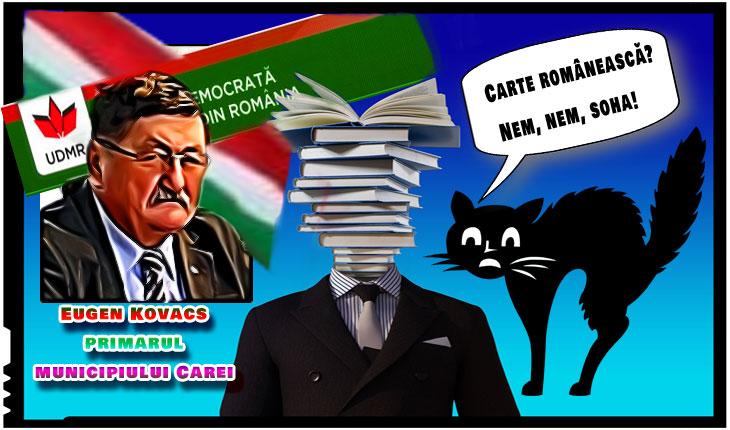 Alergie la cartea românească la Carei? Primarul UDMR-ist a refuzat o donație de carte românească!