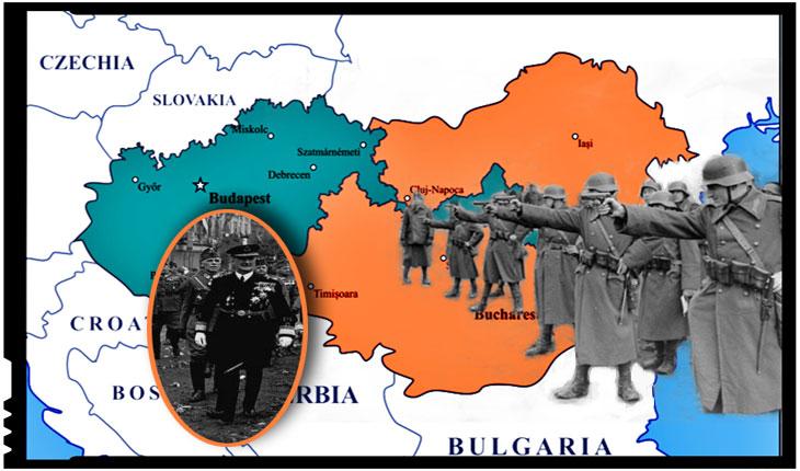 La 5 septembrie 1940 prima unitate militară maghiară invadează România, trecând frontiera pe la pe la Sighetu Marmației