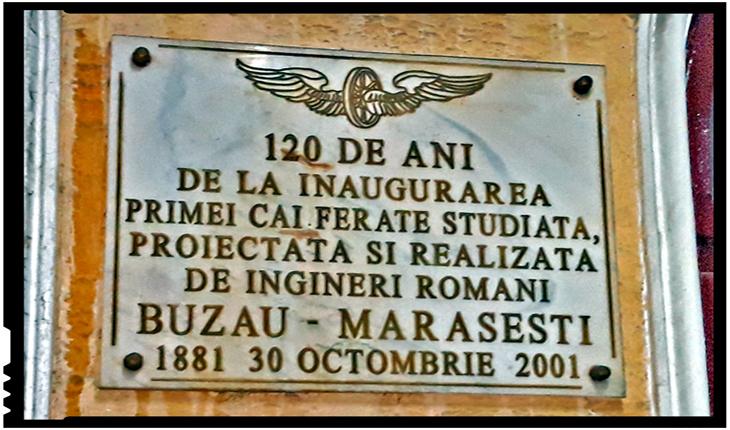 La 30 octombrie 1881 avea loc inaugurarea primei căi ferate studiată, proiectată și realizată de ingineri români