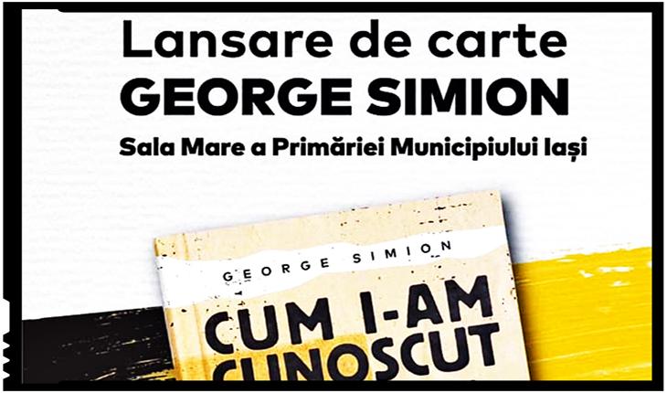 """""""UDMR, ciuma verde: cum era să fiu omorât"""", capitol din noua carte a lui George Simion lansată la Iași"""