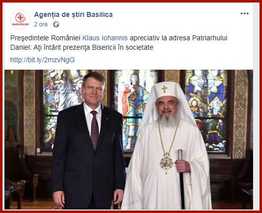 Foto: captura Facebbook /  Agenția de știri Basilica
