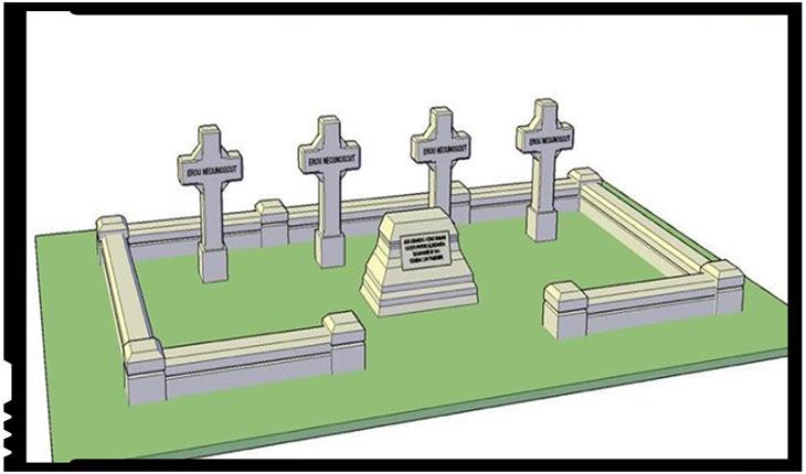 Pe 20 octombrie va fi inaugurat Mausoleul eroilor Armatei Române, în orașul Leova, Foto: Facebook / Monumentele Basarabiei Furate