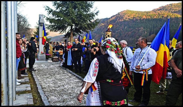 25 Octombrie 2019, Ziua Armatei la Cimitirul de la Valea Uzului, Foto: © Glasul.info
