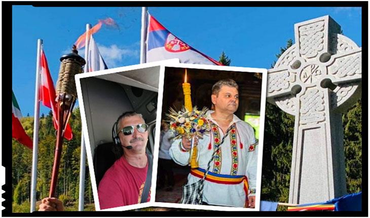 Români datorită cărora vor prinde viață cele 150 de torțe de la Valea Uzului, Foto: Facebook / Mihai Tîrnoveanu