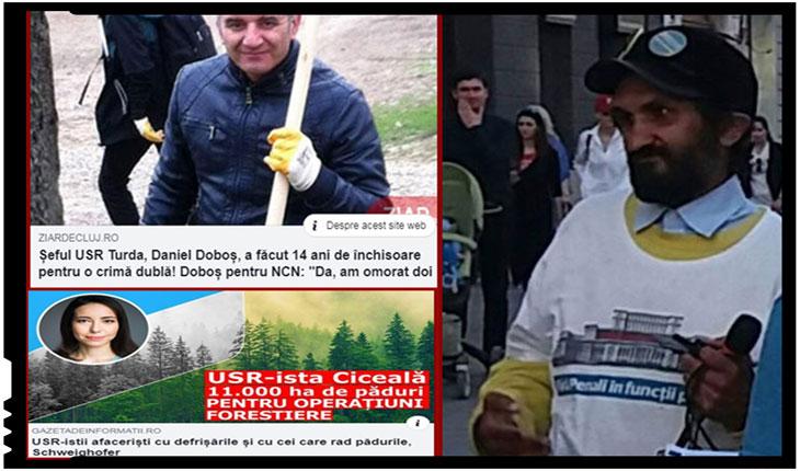 USR este un partid de infractori serioși, cu consistență, nu amatori ca ai altor partide, Foto: capturi facebook