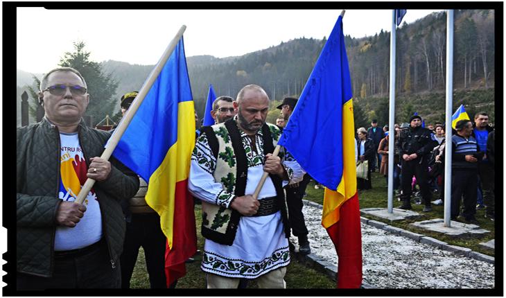 Mesaj de pe granița de nord-vest la Crucile Eroilor Armatei Române de la Valea Uzului