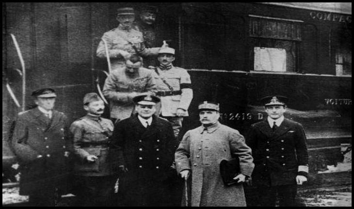 11 noiembrie 1918 - Armata germană obligată să se retragă din România. Sfârșitul Primului Război Mondial