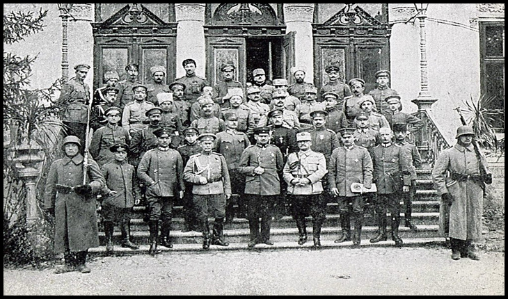 La 26 noiembrie 1917, din cauza revoluției bolșevice ruse, România era nevoită să semneze Armistițiul de la Focșani