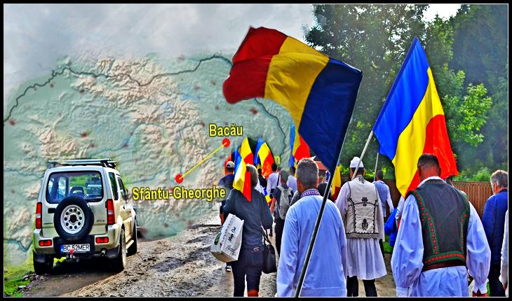 De 1 Decembrie trecem Carpații, de la Bacău la Sfântu-Gheorghe. Suntem pe Calea Neamului; nu uităm Valea Uzului, nu lăsăm Covasna