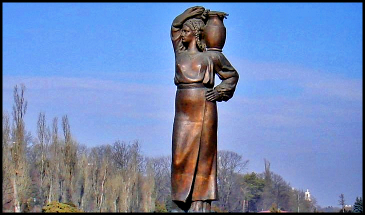Fântâna Modurei - Parcul Herăstrău București - reconstituire de Ionel Stoicescu (2006) după fotografii reprezentând originalul lui Constantin Baraschi (1939)