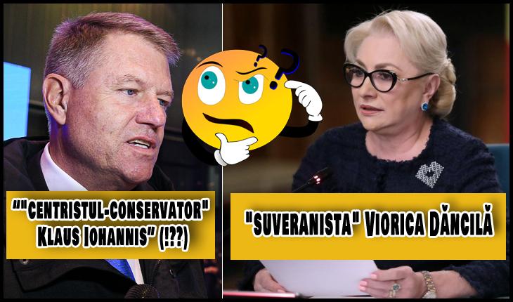 """Presa străină, chiar mai tembelă decât cea din România: """"conservatorul Iohannis"""" și """"suveranista Dăncilă"""", Foto: gov.ro / presidency.ro"""