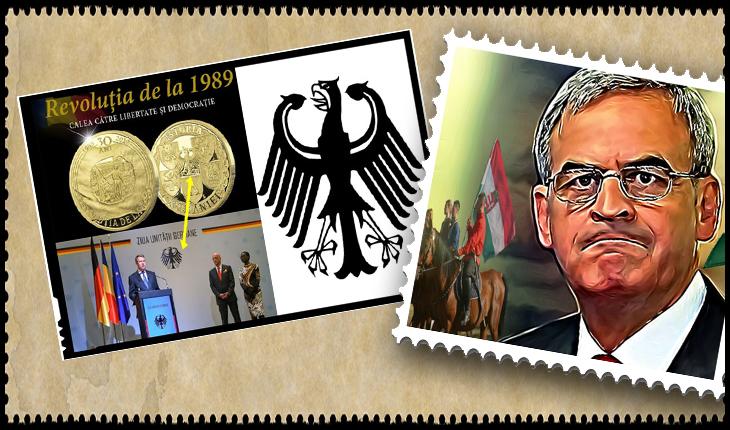 """După moneda """"românească"""" cu vulturul german, acum se cer timbre cu Laszlo Tokes! România văzută ca o pradă?"""