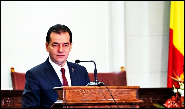 """Scrisoare publică a unui scriitor român pentru Ludovic Orban: """"Domnule Premier, nimeni nu se naște providențial, nici măcar îngerii"""", Foto: gov.ro"""