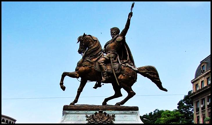 La 8 noiembrie 1874 era inaugurată statuia lui Mihai Viteazul din București