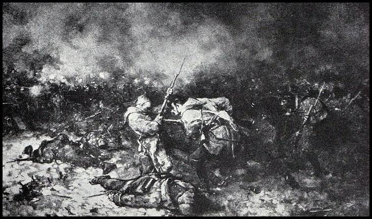 Tabolu de Nicolae Grigorescu, În Valea Rahovei