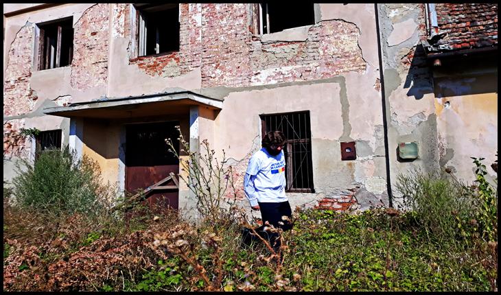August 2019: căminul cultural din satul Ianculești, Municipiul Carei