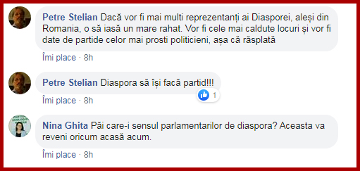 După basarabeni și diaspora românească din SUA vrea reprezentare prin grup parlamentar în România, Foto: captură facebook