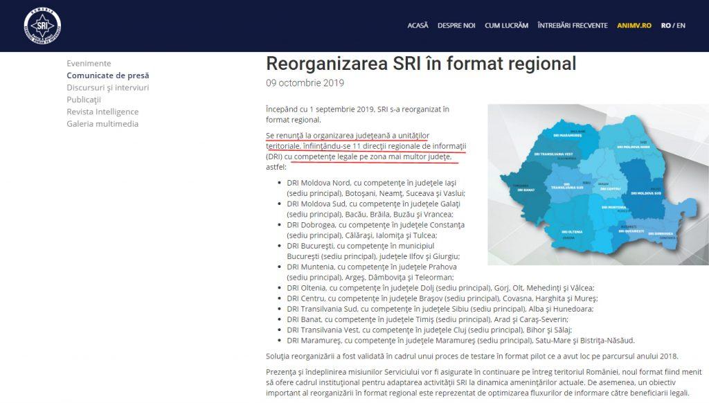 """""""Într-o regiune mare, centrifugarea ideilor separatiste creşte. """" ( Eduard Hellvig, SRI)"""