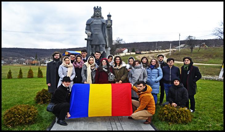 Liga Studenților (LS IAȘI)  la mănăstirea Căpriana