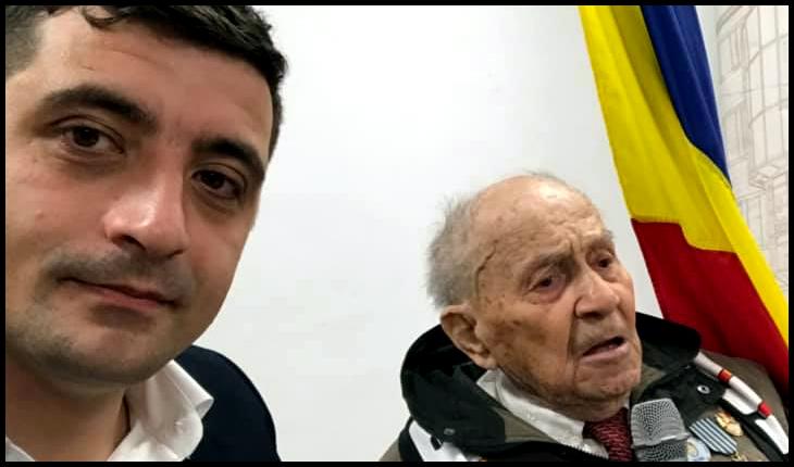 Membri și simpatizanți ai Alianței pentru Unirea Românilor au fost la Râmnicu Vâlcea pentru a repara jignirea adusă veteranilor de război de către politicienii locali