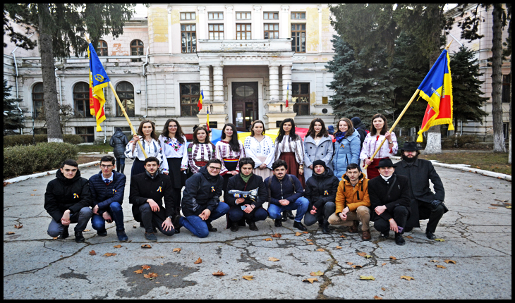 Grupul organizat de către  Liga Studenților din Iași (n.r.  LS IAŞI)