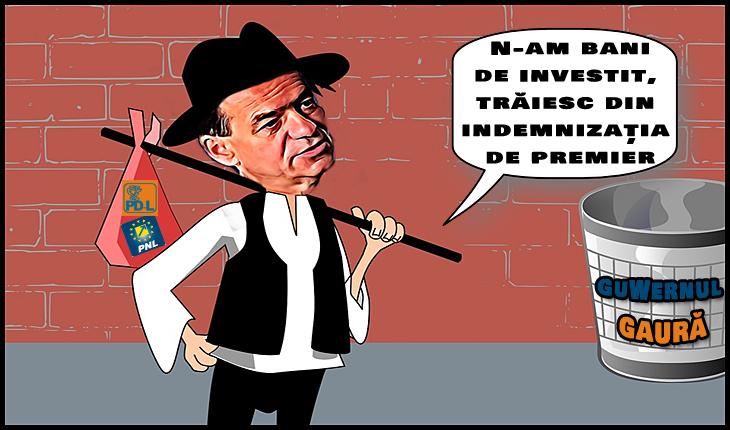 Ludovic Orban: N-am bani de investit, trăiesc din indemnizația de premier
