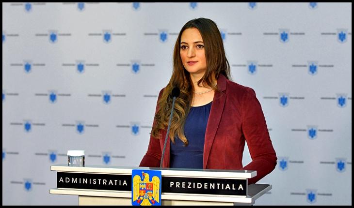 """Radu Banciu: """"Mădălina Dobrovolschi și-a dat demisia. Să facă pe purtătorul de cuvânt la unul care mai mult tușea decât vorbea"""", Foto: presidency.ro"""