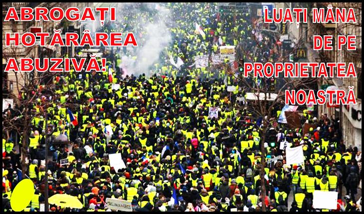 """Protest la București împotriva """"taxei Oxigen"""", Foto: https://www.facebook.com/events/974513989585277/"""