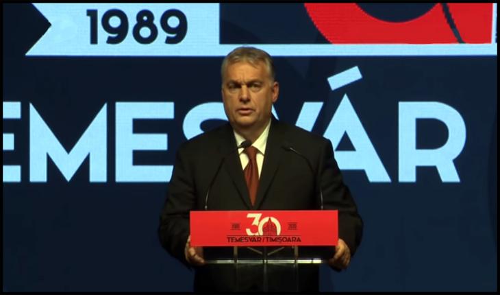 """Șarada lui Viktor Orban de la Timișoara primește un răspuns: """"Revoluția română nu a fost făcută de unguri!"""", Foto: captura youtube"""