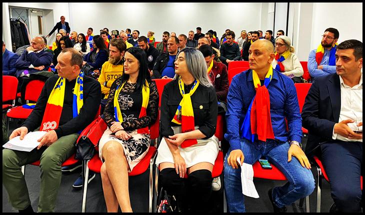 Alianța pentru Unirea Românilor (AUR) și-a constituit prima filială din străinătate în Anglia, la Wolverhampton