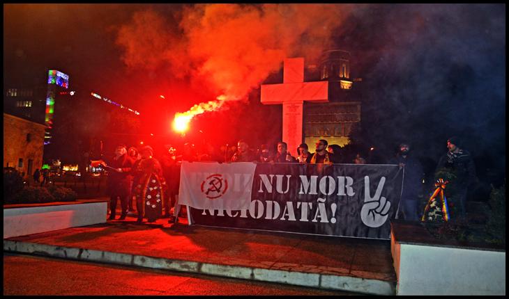 (FOTO) Marș și ceremonie religioasă de comemorare a eroilor din decembrie 1989 la Iași
