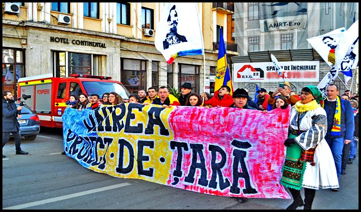 Marșul Unioniștilor la IAȘI, 24 Ianuarie 2020