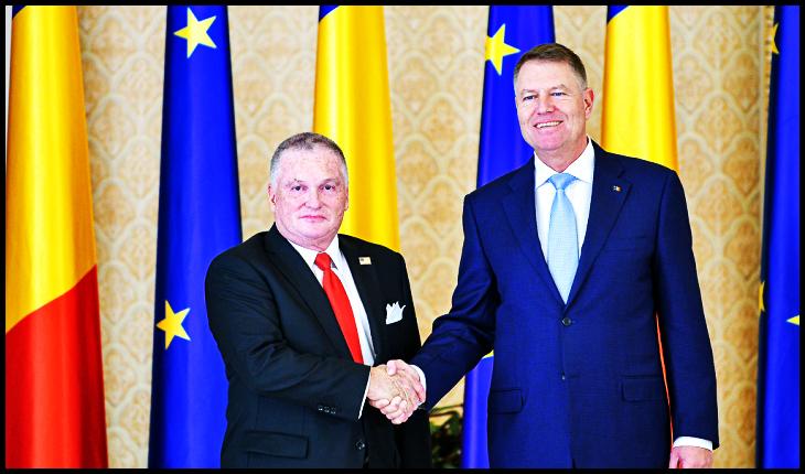 De 15 ianuarie ambasadorul SUA recită din Eminescu, iar Iohannis bășește pe gură progresisme neomarxiste!?, Foto: presidency.ro