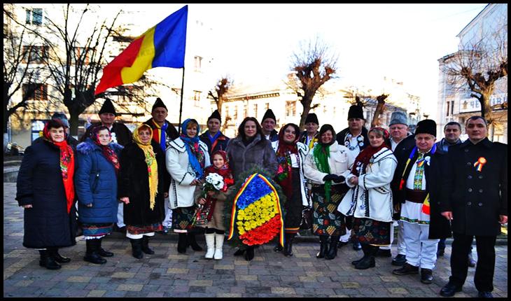 """Eminescu sărbătorit și în Bucovina de Nord: """"LA EMINESCU, SUS, ÎN DULCEA BUCOVINĂ"""", Foto: Zorile Bucovinei"""