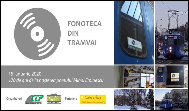 De ziua lui Eminescu, călătorii ieșeni îi vor putea asculta versurile în Tramvaiul Literaturii, Foto: Facebook / Asociaţia Pasionaţilor de Transport Public Tramclub Iaşi