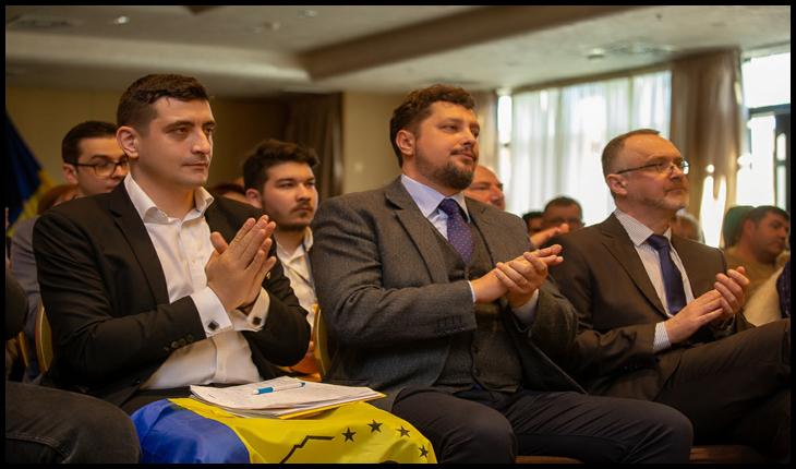 George Simion, Claudiu Târziu, Sorin Lavric -  Congresul național al Alianței pentru Unirea Românilor, IAȘI, 24 ianuarie 2020