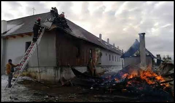 """Bisericile și mănăstirile românești s-au """"învățat"""" să ardă de la cele occidentale?, Foto: captură foto youtube"""