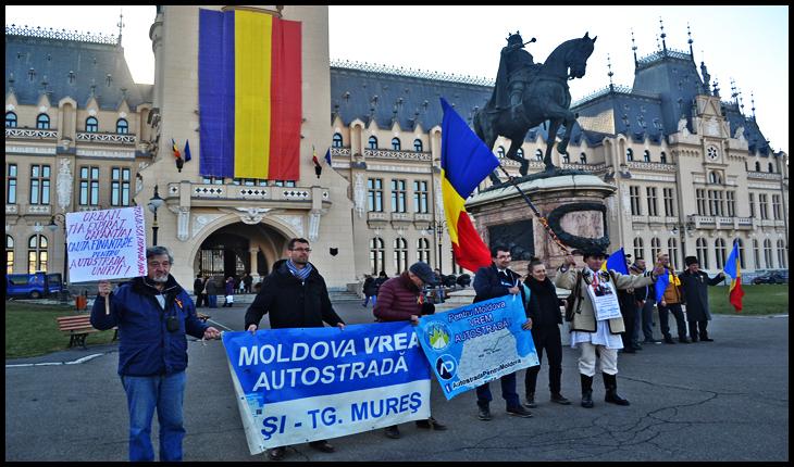 Protest la IAȘI împotriva lui Ludovic Orban, 24 Ianuarie 2020