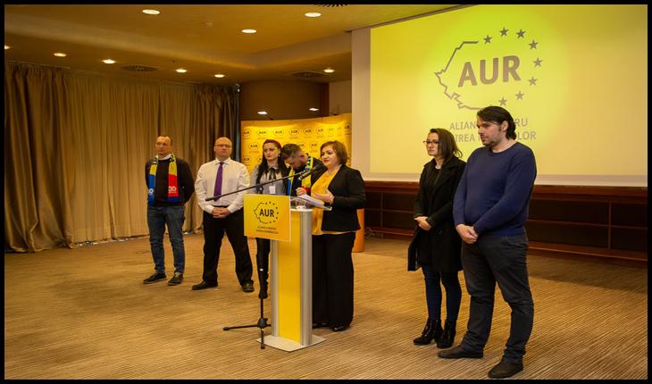 Reprezentanți diaspora AUR