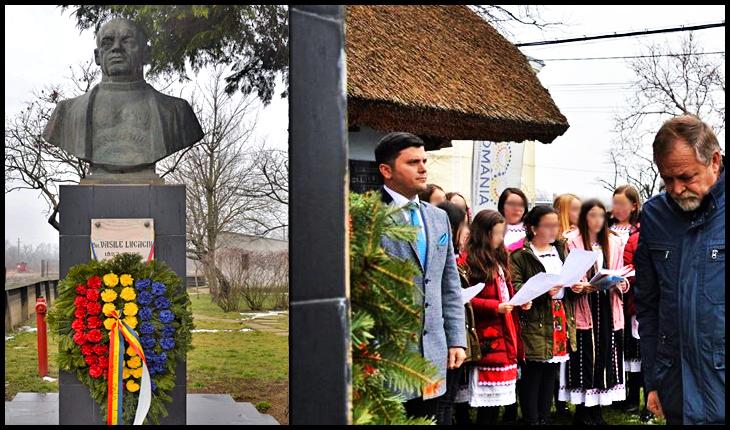 Marele patriot român Vasile Lucaciu comemorat în localitatea sa natală, la 168 de ani de la nașterea sa, Foto: Facebook/ Județul Satu Mare - Consiliul Județean
